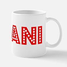 Retro Leilani (Red) Mug