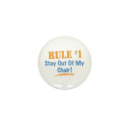 Rule #1 Chair Mini Button (100 pack)