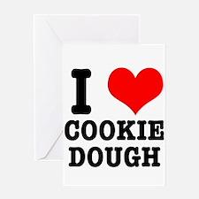 I Heart (Love) Cookie Dough Greeting Card