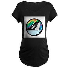 Orca Killer Whale Circle Desi T-Shirt