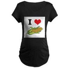 I Heart (Love) Corn (On the C T-Shirt