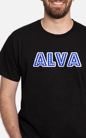 Retro Alva (Blue) T-Shirt