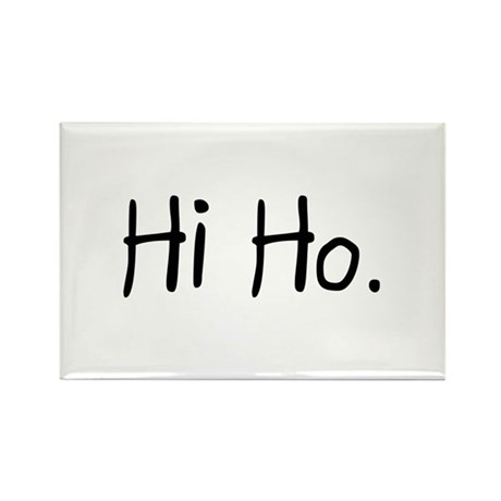 Hi Ho Rectangle Magnet (100 pack)