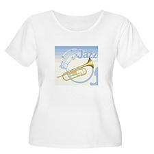 Jazz Trumpet Design T-Shirt