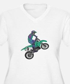 Dirt Bike Popping Wheelie T-Shirt