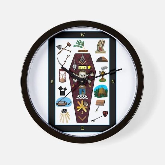 Master's Carpet Wall Clock