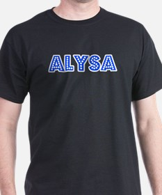 Retro Alysa (Blue) T-Shirt