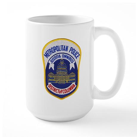 D.C. Metro PD Large Mug