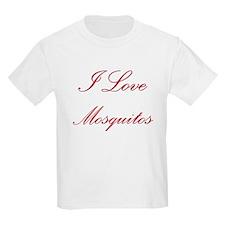 I Love Mosquitos T-Shirt