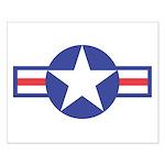 US USAF Aircraft Star Small Poster