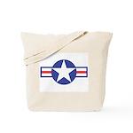 US USAF Aircraft Star Tote Bag