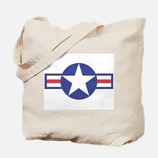 US USAF Aircraft Star Tote Bag