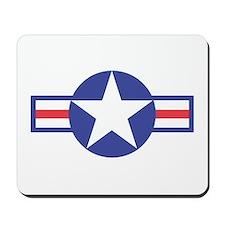 US USAF Aircraft Star Mousepad