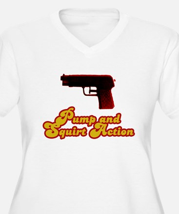 Pump and Squirt Action T-Shirt
