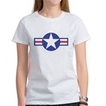 US USAF Aircraft Star (Front) Women's T-Shirt