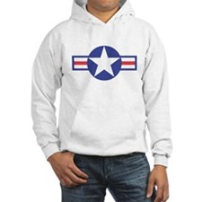 US USAF Aircraft Star Jumper Hoody