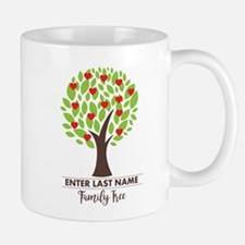 Personalized Last Name - Family Tree Mugs