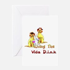 Vida Dink Greeting Card