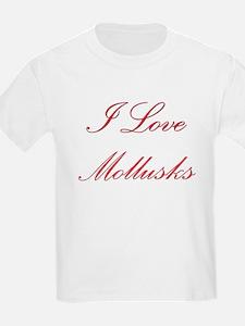 I Love Mollusks T-Shirt