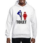 Toilet Peek Hooded Sweatshirt