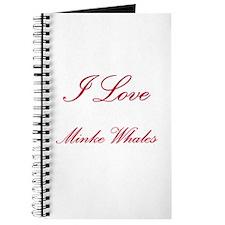 I Love Minke Whales Journal
