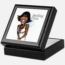 Smiling Diva Keepsake Box