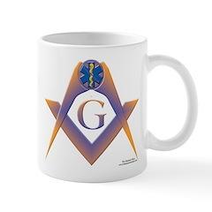 Holding the Star of Life Mug