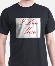 I Love Mice T-Shirt