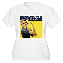 Rosie the Riveter's Pimp Hand T-Shirt