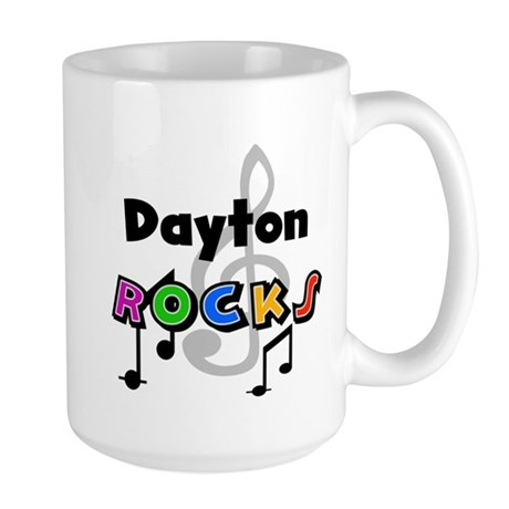 Dayton Rocks Large Mug