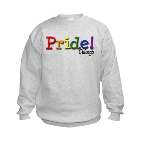 Chicago Gay Pride Kids Sweatshirt