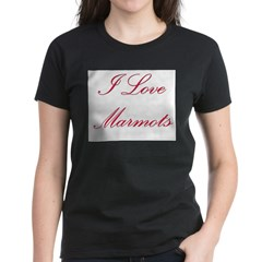 I Love Marmots Tee