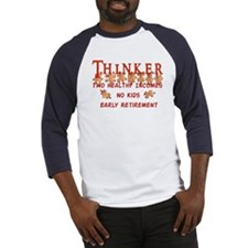 Child-Free Thinker Baseball Jersey