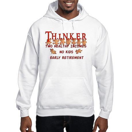 Child-Free Thinker Hooded Sweatshirt
