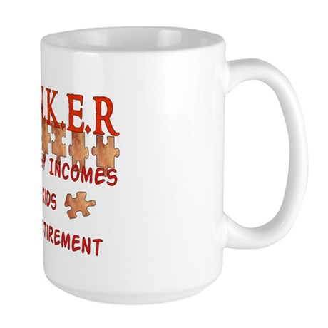 Child-Free Thinker Large Mug