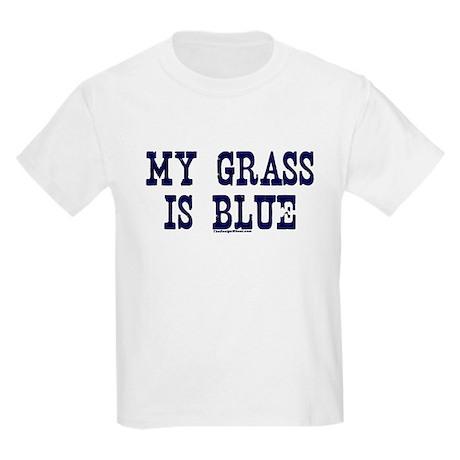 My Grass Is Blue Kids Light T-Shirt