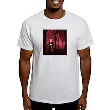 DARVELA  Ash Grey T-Shirt