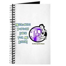 Microwave Popcorn Lunch Journal