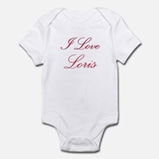 I Love Loris Infant Bodysuit