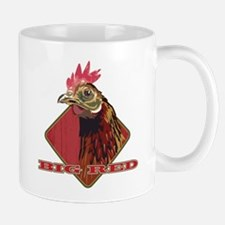Big Red Country Rooster Mug