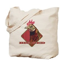 Big Red Country Rooster Tote Bag