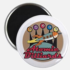 Atomic Billiards Magnet