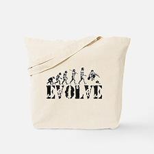 Curling Evolution Tote Bag