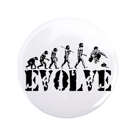 "Curling Evolution 3.5"" Button (100 pack)"