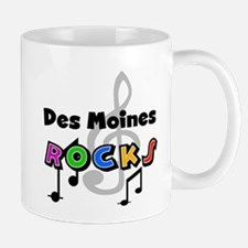 Des Moines Rocks Mug