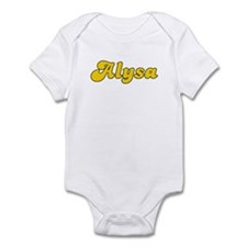 Retro Alysa (Gold) Onesie