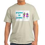 Clogging Clogger Ash Grey T-Shirt