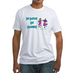 Clogging Clogger Fitted T-Shirt