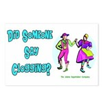 Clogging Clogger Postcards (Package of 8)