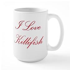 I Love Killifish Mug